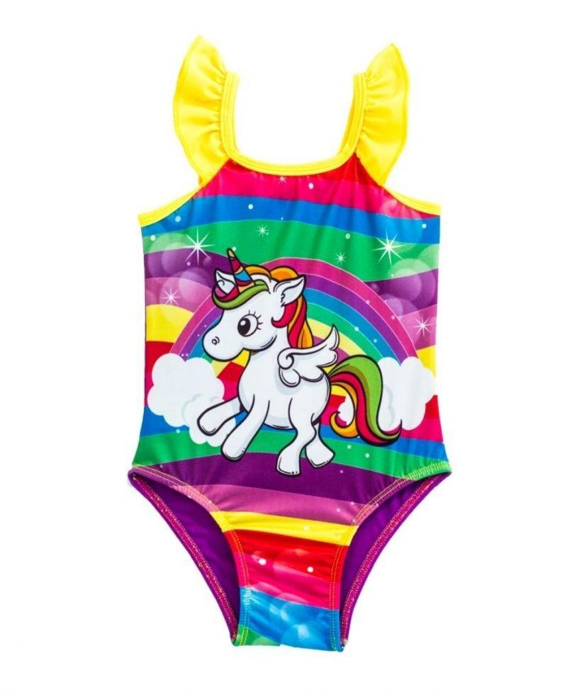 Traje de Baño para niñas de Unicornio