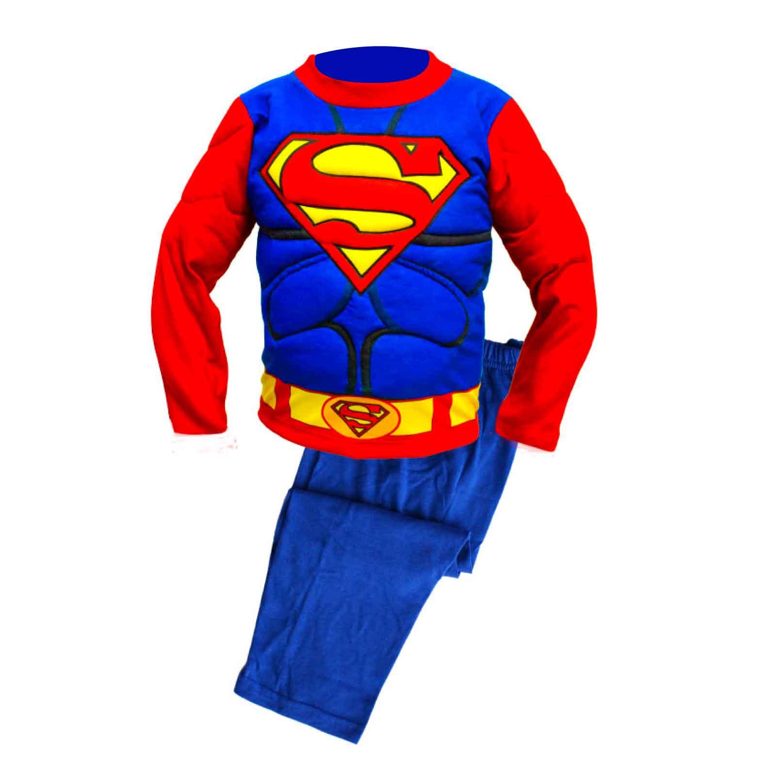 b81268e295 Pijama con musculo de Superman – Enanitos