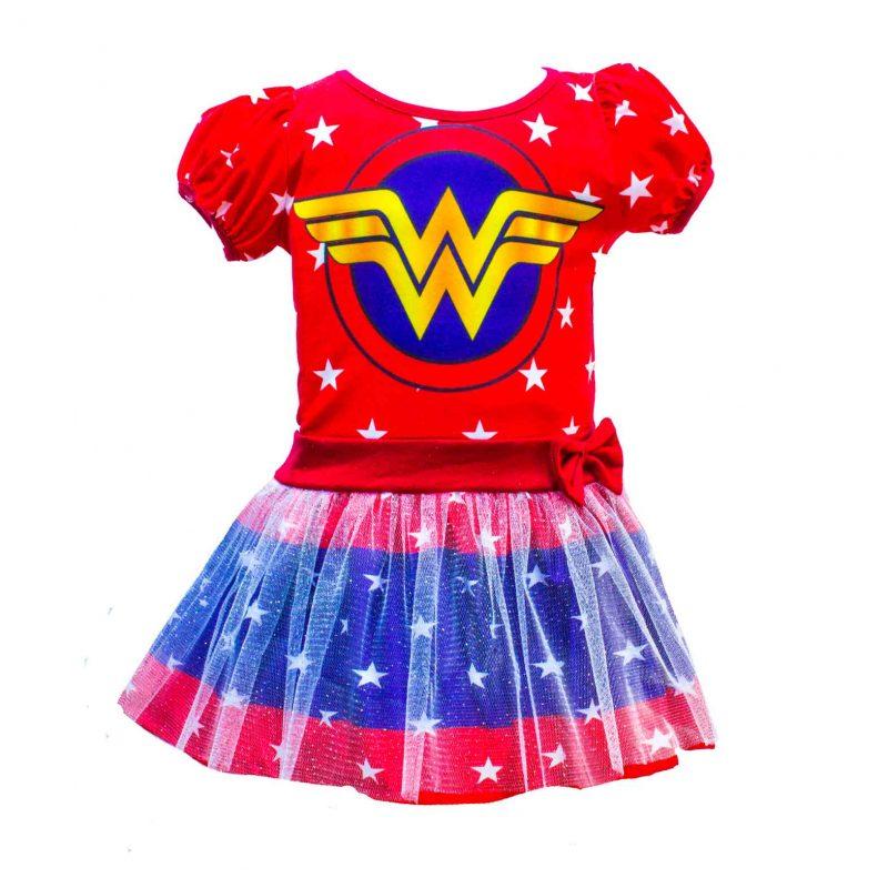 Vestido De Niña De Mujer Maravilla