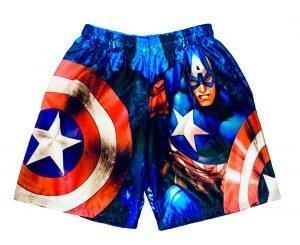 Short de Capitán América