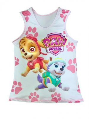 Camiseta infantil de skye y everest de Paw Patrol