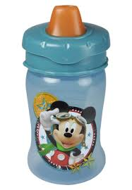 Vaso Anti-derrame De Mickey Disney 10 Oz / 300 Ml