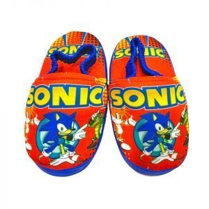 Pantuflas de Sonic